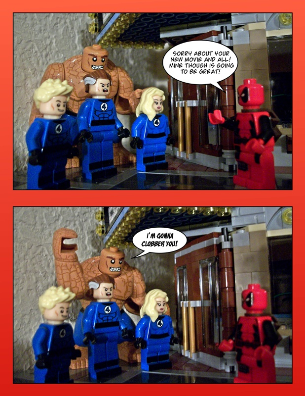 Deadpool Vs. Fan 4 Stic