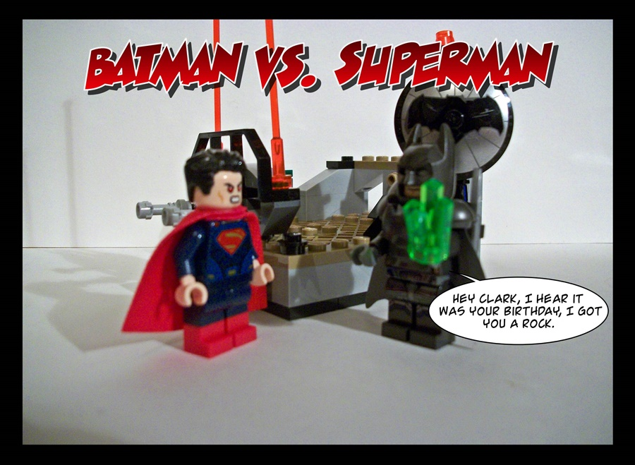 Batman Vs. Superman - Birthday