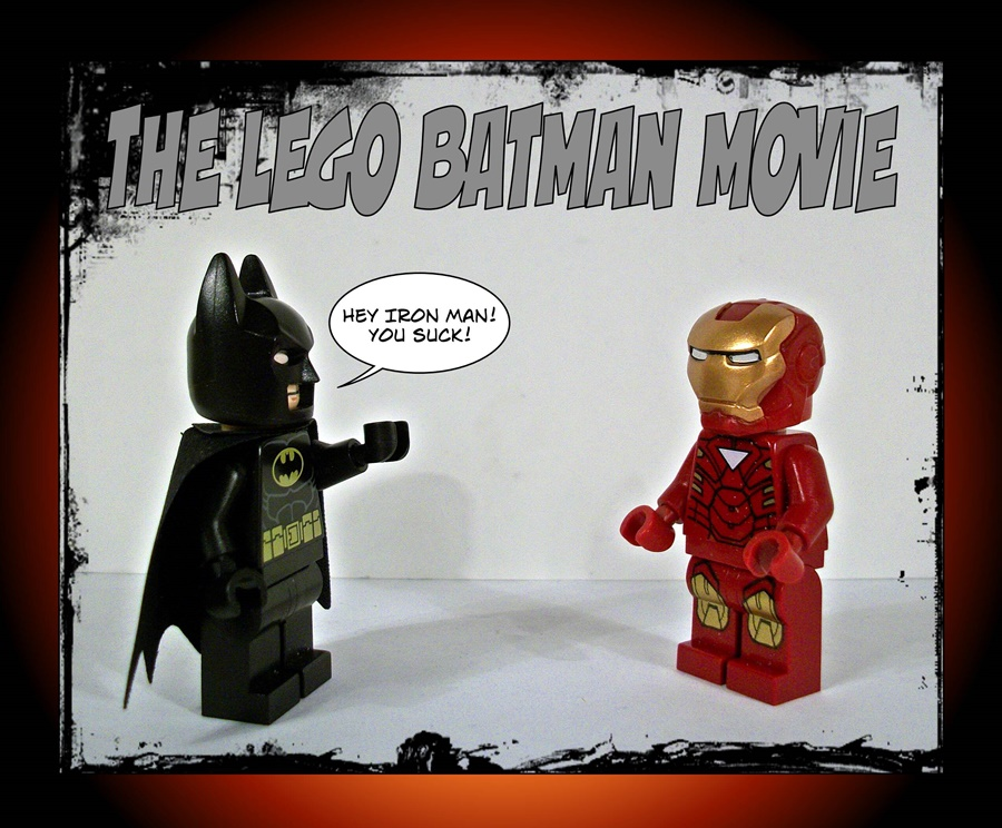 The LEGO Batman Movie - Iron Man Sucks
