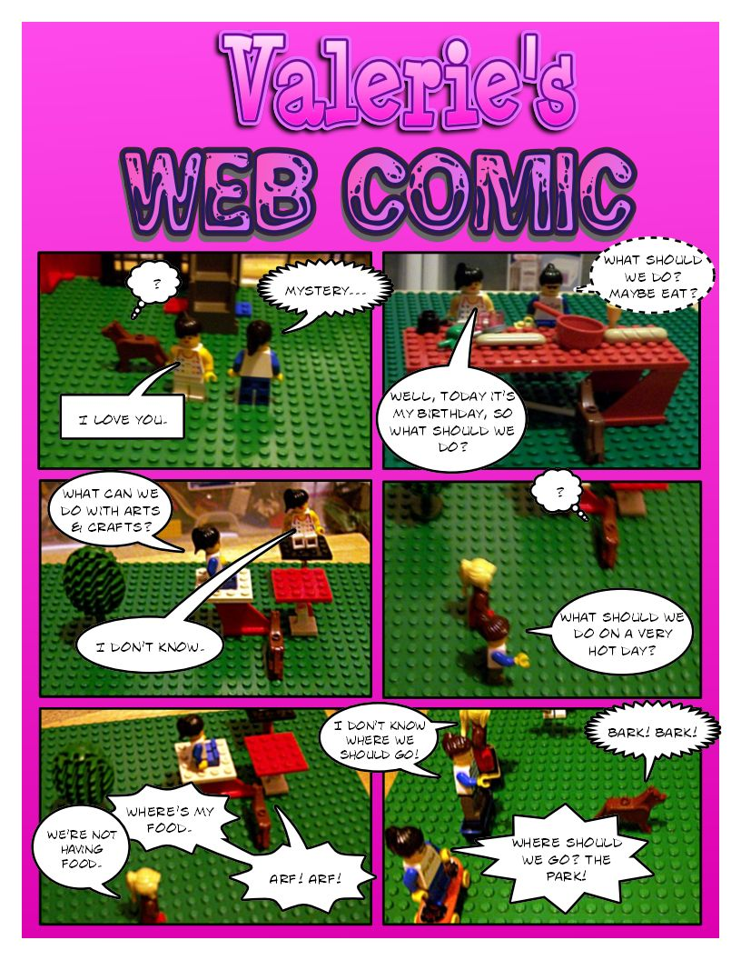Bonus - Val's 2nd Comic