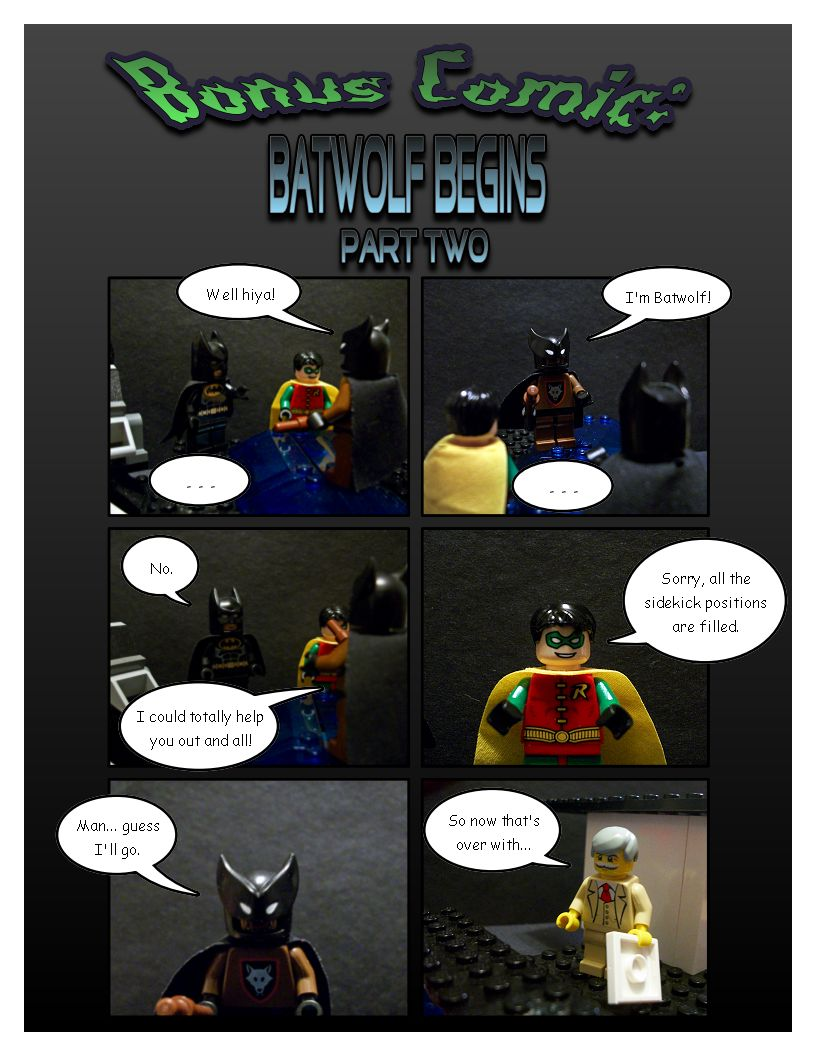 Bonus Comic: Batwolf Begins Part Two