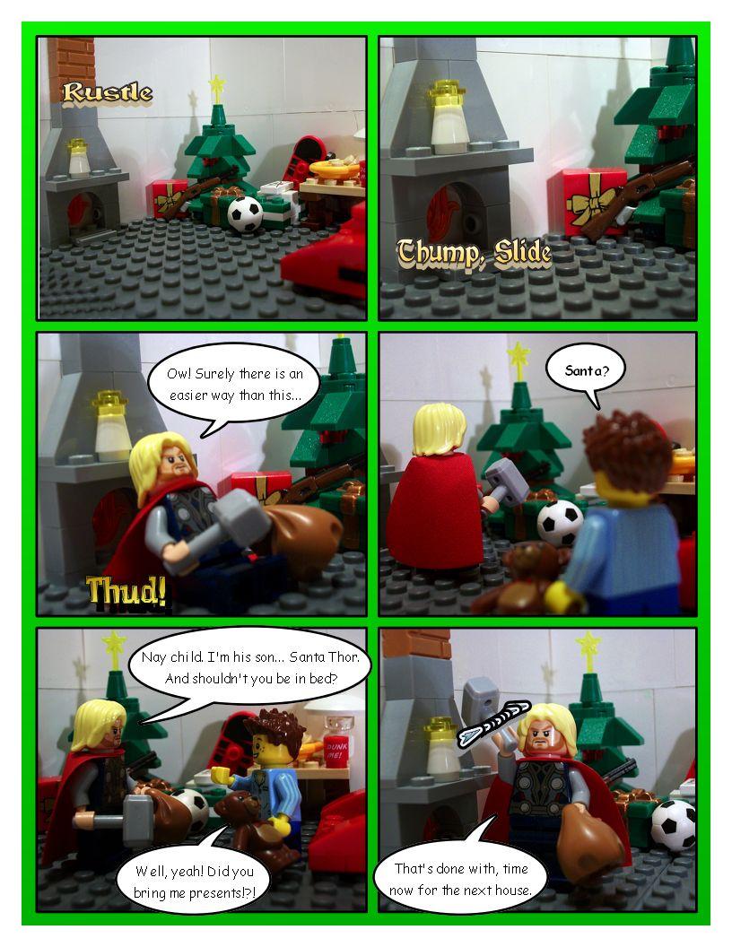 Avengers' Christmas - Part 5