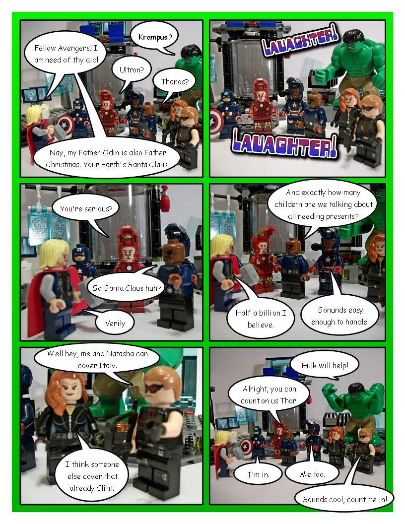 Avengers' Christmas - Part 3
