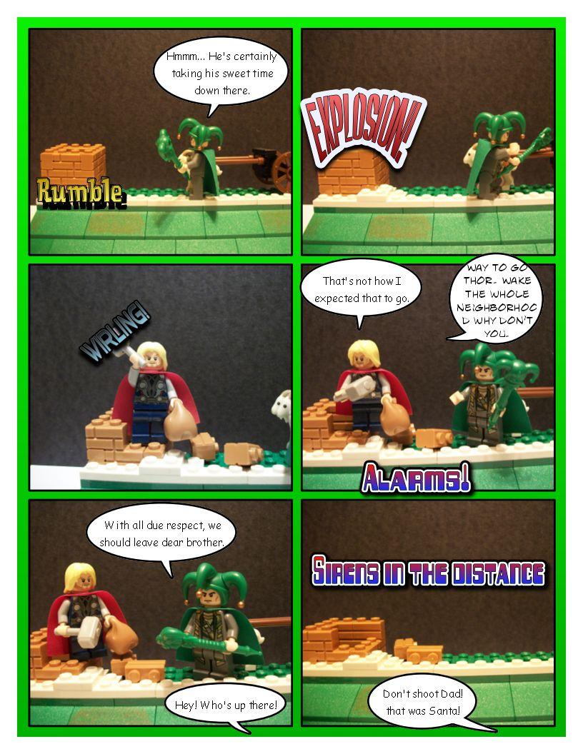 Avengers' Christmas - Part 6