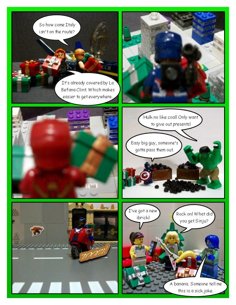 Avengers' Christmas - Part 8