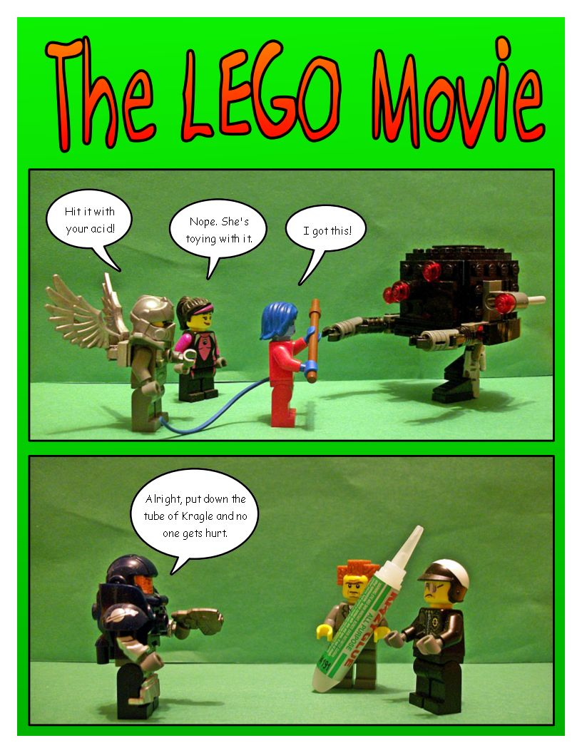 The LEGO Movie DVD Release!
